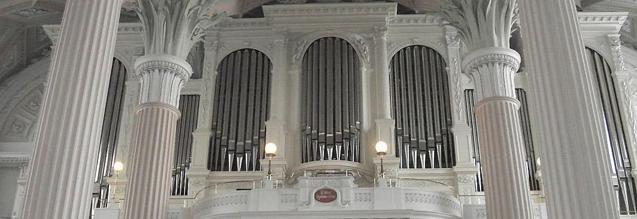 Organ in the Church of St. Nicholas, Leipzig