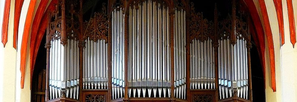 Organ in the Church of St. Thomas, Leipzig